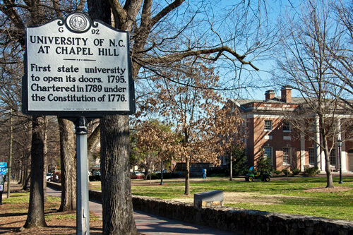 University of north carolina HCM Top Public Ivy