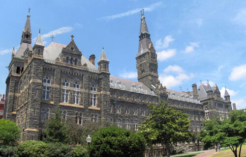 Georgetown University Best Small School for Healthcare Management