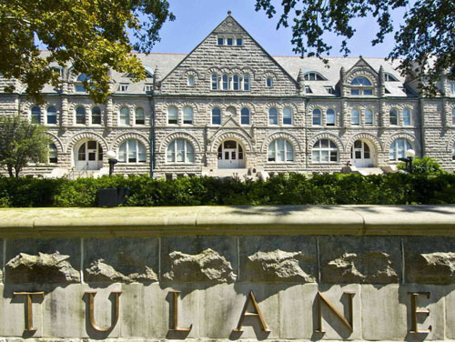 Tulane University Best Small School for Healthcare Management