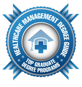 Badge - HC Mgt Degree Guide - Top Graduate Degree Programs