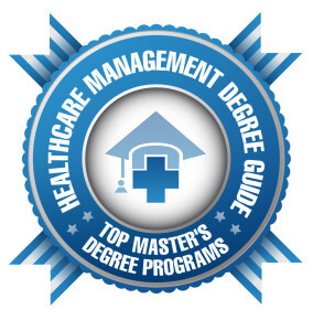 Badge - HC Mgt Degree Guide - Top Master's Degree Programs
