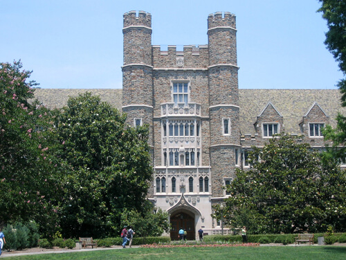 Duke University Best HCM Masters Tuition Assistance