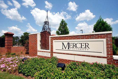 Mercer University Best Graduate HCM Southern Region