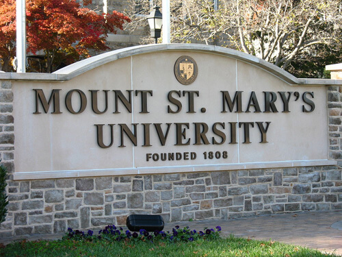Mount St Marys University Best Graduate HCM in the West