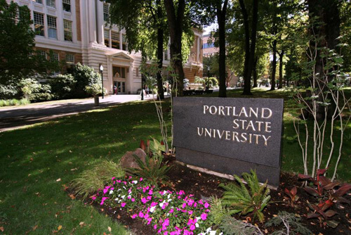 Portland State University Best Graduate HCM in the West